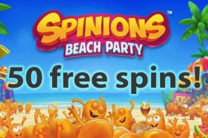 Spinions free spins thrills casino