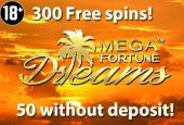 mega fortune dreams free spins