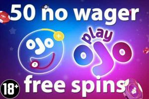 Casino Play OJO free spins zonder wager