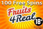 100 Fruits4Real free spins