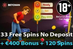 Betchan free spins zonder storting
