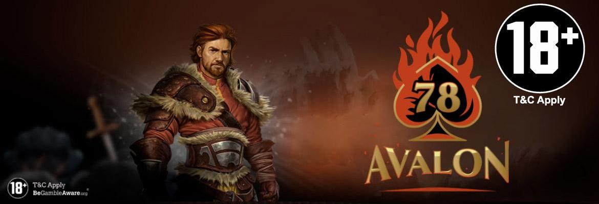 Avalon78 casino slider voor gratis spins