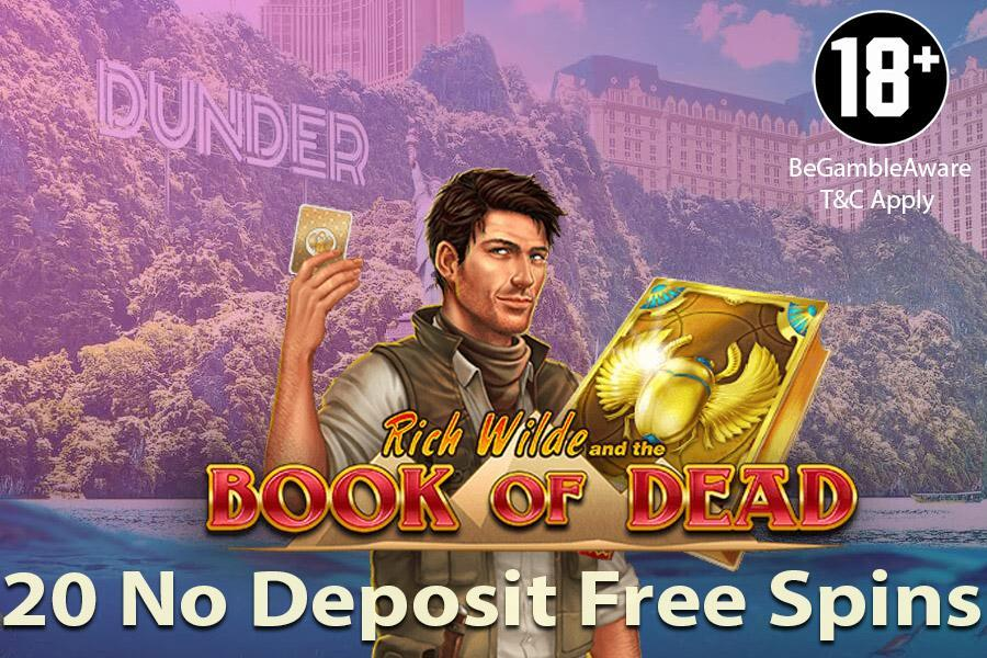 Dunder casino free spins na aanmelding