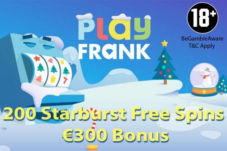 PlayFrank Casino Bonus Codes 2021