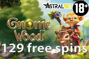 gnome wood gratis spins