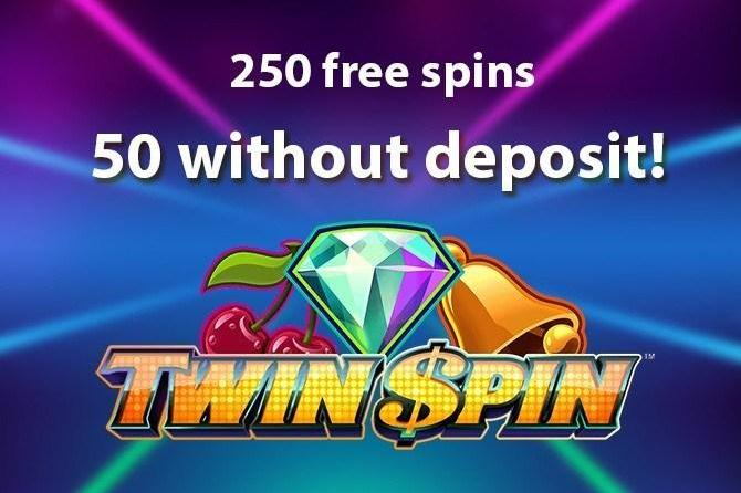 Twin Spin free spins no deposit